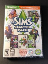 The Sims 3 Starter Pack [ 3 Games in 1 Pack ]  (PC / DVD-ROM) NEW
