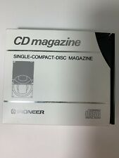 Pioneer Prw-172 Single Cd Cartridge Compact Disc Magazine For Multi Changers