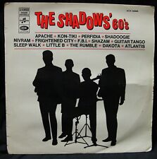 THE SHADOWS 60's - LP FRENCH ISSUE COLUMBIA SCTX 340405 STEREO