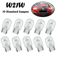 10x W21W 12V W3x16d Jurmann Weiß Standard Glassockel Halogen Ersatz Auto Lampe