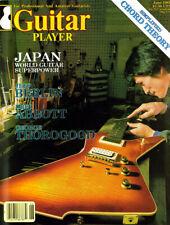 GUITAR PLAYER MAGAZINE JUNE 1981 JAPAN GEORGE THOROGOOD DREW ABBOTT JEFF BERLIN