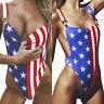 Womens Padded Monokini One Piece Bikini Swimwear Backless Bathing Suit Swimsuit.