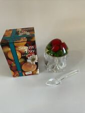 More details for vintage retro jam pot boxed sunny day perspex cherry 1980s