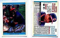Sandy Alomar Jr. Signed 1992 Donruss #203 Card Cleveland Indians Auto Autograph