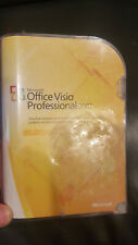 Used Microsoft Office Visio Professional 2007 Full Version Retail