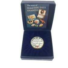 Halcyon Days Battersea Bilston Enamel Trinket Box Marriage Prince Charles Diana