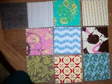 "Quilting Squares Set of 100 4x4"" Cotton New"