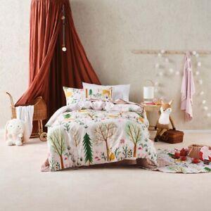 Hiccups Woodlandia Single Bed Size Duvet Doona Quilt Cover Set