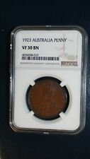 1923 Australia Penny NGC VF30 BN 1P Coin PRICED FOR QUICK SALE!