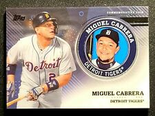 MIGUEL CABRERA 2020 Topps Commemorative Coin Medallion Series 2 Tigers TPM-MCA