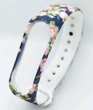 Xiaomi Mi Band 3/4 Recambio Correa Smartwatch   estampado flores s/foto flowered