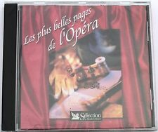 LES PLUS BELLES PAGES DE L'OPERA . COMPILATION READER'S DIGEST . CD