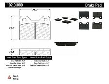 Disc Brake Pad Set-BB Rear,Front Centric 102.01080