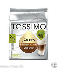Tassimo Jacobs Latte Macchiato Coffee 2 Pack 32 T Disc 16 Servings