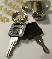 NEW AMMA DRAWER/ CABINET POP-OUT/ UP/ PUSH LOCK WITH 2 KEYS CHROME