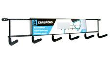 "Crawford Cmhd-6 Household Hanger, 16"" Holds 10 lbs - Black"