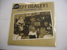 JEFF HEALEY BAND - LIVE AT GROSSMAN'S 1994 - 2LP CLEAR VINYL NEW SEALED 2012