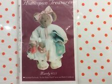 """BEAR PATTERN.  """"   MANDY. """"  18"""" BEAR INCLUDES  EYES, & PATTERNS FOR CLOTHES"""