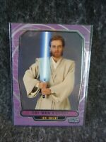 Star Wars Galactic Files Topps 2012 Trading Card # 33 Obi-Wan Kenobi