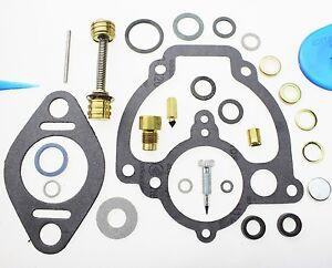 Carburetor Kit fit International Harvester IHC engine 220 SD220 105604R91 11395