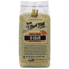 Bob'S Red Mill, 10 Grano Hot cereales, grano entero, 25 OZ (approx. 708.73 g) (708 G)