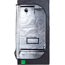 Budbox Lite 80 x 80 x 160cm Hydroponic Silver Mylar Indoor Grow Room Tent