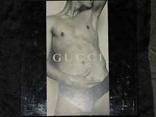 Gucci by Tom Ford Underwear Mens Underwear Size L Black Ultra Rare Discontinued!