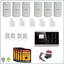 Pet Immune Friendly 3G+PSTN Wireless Home Security DIY House Alarm system