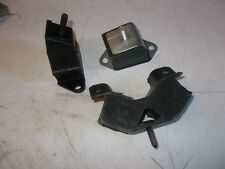 KIT 3 SUPPORTI MOTORE RENAULT 5 GT TURBO FRONT RIGHT LEFT ENGINE SUPPORTS 3 P