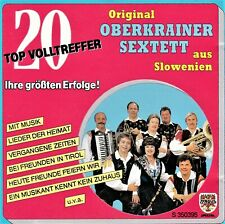 ORIGINAL OBERKRAINER SEXTETT AUS SLOWENIEN - NEAR MINT CD - Free Shipping