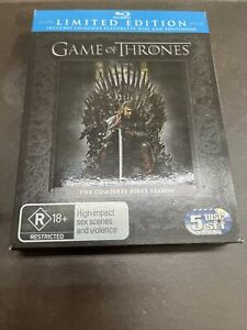 Game of Thrones The Complete First Season Limited Edition Blu-Ray AUS Region B