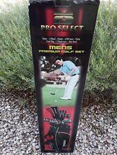 MEN'S Pro Select PS Complete Golf Club Set Regular Flex 9 Clubs / 13pc Bag