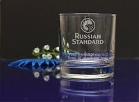 Personalised Engraved Russian Standard Vodka glass.Christmas Birthday Gift 91
