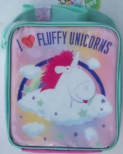 Despicable Me 'I Love Fluffy Unicorns' LunchBag / lunch bag