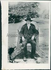 William Neimoyer Chair Carved from Tree Salt Lake City Original News Service Pho