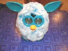 FURBY  Interactive Blue Plush  Pet Toy Hasbro Electronic, Digital Eyes Tested