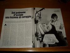 ROSANNA BENZI clipping articolo ritaglio rivista foto photo 1973