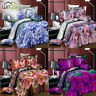 3D Printed Flower Duvet Quilt Covers Pillowcase Bedding Set for Twin/Queen Bed