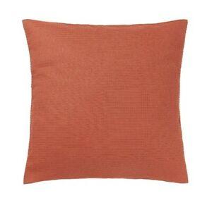 "Ikea EBBATILDACushion Cover Rust Orange 20x20"" Pillow Slip Cover New"