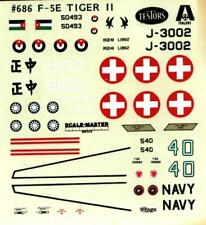 Testors Italeri 1:72 F-5 E F-5E Tiger II Decal Sheet #686decU