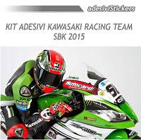 KIT ADESIVI MOTO KAWASAKI RACING TEAM SBK 2015
