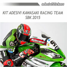 KIT ADESIVI MOTO KAWASAKI RACING TEAM SBK 2015