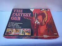 VINTAGE 1973 DENY'S FISHER THE FASTEST GUN BOARD GAME