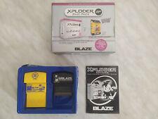 XPLODER BLAZE duo pack GBA SP GBC Game Boy CIB color advance cheats pokemom