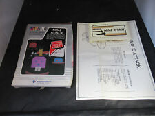 Commodore Vic 20 Game Mole Attack Boxed with Instructions