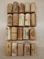 20 different wine corks from Lithuania region