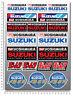 Suzuki Team Racing gsxr motorcycle decals 19 stickers GSX-R Yoshimura Laminated