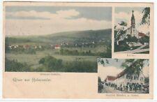 Hohenweiler evtl. b. Backnang o.Hohenlohe,Dorf Gasthaus Sonne v. G. Bässler 1908