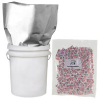 (20) 2 GALLON 14x20 Mylar Bags + 40-400cc Oxygen Absorber Long Term Food Storage
