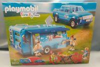 Playmobil 9502 Fun Park Pick Up und Wohnwagen Family Fun Caravan NEU & OVP